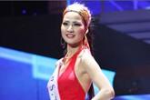 Trần Thị Quỳnh nổi bật trong áo dài, nón lá tại Mrs. World