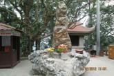 """Sự thật về cột đá lạ """"trấn yểm"""" tại Đền Hùng"""
