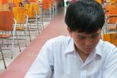 Cận cảnh từ nhà đi thi của thí sinh đặc biệt Võ Văn Nhật