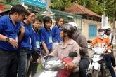 Sinh viên tình nguyện TPHCM ra quân tiếp sức mùa thi