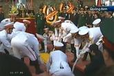 Cận cảnh Lễ an táng Đại tướng tại Vũng Chùa