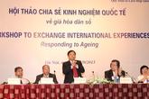 Hội thảo chia sẻ kinh nghiệm quốc tế về già hóa dân số