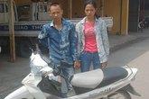 Bắt đôi tình nhân trộm xe máy đi mua ma tuý