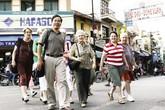 Hà Nội: Hạn chế phương tiện cá nhân bằng phố đi bộ