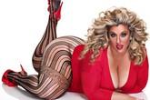 Ngắm nữ người mẫu nổi tiếng nặng... 136kg