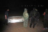 Phát hiện thi thể phụ nữ trôi trên sông Hồng