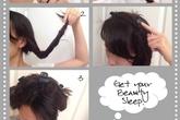 Cách làm tóc xoăn đơn giản không cần nhiệt