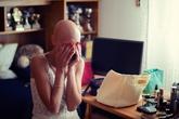 Cô dâu bị ung thư đẹp ngỡ ngàng trong ngày cưới