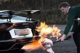 Chuyện thật như bịa: Dùng siêu xe để nướng gà