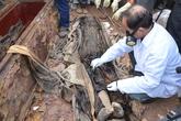 Khai quật mộ cổ 300 năm ở Hà Nội