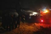 Máy bay đâm vào kho đạn dược, 9 người chết