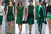 3 cách vận dụng trang phục màu xanh lục bảo đẹp rực rỡ