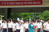 Công bố 6 môn thi tốt nghiệp THPT năm 2013