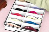12 cách sắp xếp giày dép siêu gọn gàng