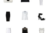 Phối đồ công sở sang trọng với trang phục đen-trắng