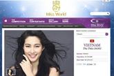 HH Đặng Thu Thảo phủ nhận thông tin đi thi Hoa hậu Thế giới