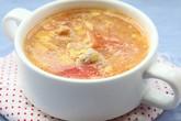 Canh trứng cà chua giản dị ngon cơm