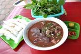 Bánh mướt xáo lòng ngon rẻ phố Nguyễn Khang