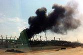 Cháy tại công trường nhà ga T2 sân bay Nội Bài