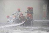 Gặp các 'anh hùng lửa' sau vụ cháy cây xăng