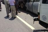 7 ôtô đâm liên hoàn trên QL1 Hà Nội - Lạng Sơn