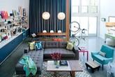 Khám phá căn hộ tuyệt đẹp với màu xanh lam