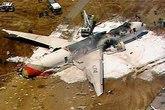 Máy bay chở hơn 300 người gặp nạn tại Mỹ