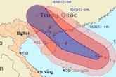 Siêu bão giật cấp 16, Hà Nội cảnh giác mưa lớn