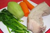 Hấp dẫn thịt ba rọi cuộn rau củ