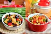 2 món xào ngon đầy màu sắc cho bữa chiều