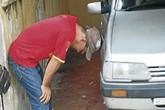 Bé trai 4 tuổi lùi xe ô tô khiến em trai chết thảm