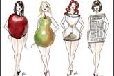 Nhận biết vóc dáng của bạn để bắt đầu giảm mỡ bụng