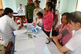 400 người dân ở vùng núi Phước Sơn được khám bệnh