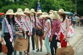 Thí sinh Hoa hậu các dân tộc  bảo vệ môi trường tại Cù Lao Chàm