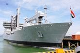 Bốn tàu Hải quân Ấn Độ cập cảng Tiên Sa