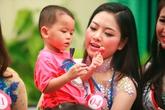 Thí sinh Hoa hậu các dân tộc thăm những mảnh đời bất hạnh