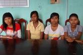 """Bốn thiếu nữ dân tộc Khmer rơi vào """"bẫy"""" buôn người"""