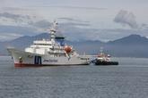 Tàu Cảnh sát biển Nhật Bản cập cảng Đà Nẵng
