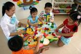 TP HCM đề nghị đạt chuẩn phổ cập giáo dục mầm non
