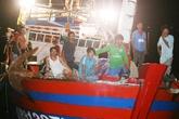 Cứu sống ngư dân Trung Quốc gặp nạn trên biển