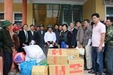 Quảng Bình: Tình người sau bão lũ