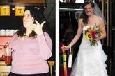 Cô gái bắt bạn trai đợi 7 năm mới kết hôn vì... quá béo