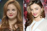 Thiếu nữ xinh đẹp phẫu thuật giống hệt siêu mẫu Miranda Kerr