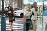 Nhức mắt với thời trang xuyên thấu của các thiếu nữ Trung Quốc