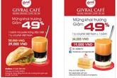 Ưu đãi 49% mừng khai trương Givral Café thứ 12