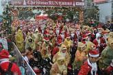 Không khí Giáng sinh nhộn nhịp khắp thế giới