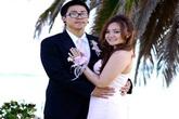 """""""Bé"""" Xuân Mai """"lộ"""" ảnh cưới với bạn trai Việt kiều?"""