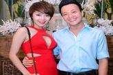 Minh Hằng diện váy xẻ ngực táo bạo, hớp hồn Lương Mạnh Hải