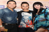 Phi Thanh Vân mặc váy siêu ngắn xuyên thấu dự ra mắt phim