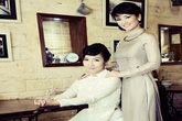 Mỹ Linh, Hồng Nhung đẹp ngất ngây khi hóa thân thành 2 thiếu nữ Hà Thành